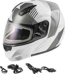 GMAX MD-04S SNOW HELMET RESERVE ELECTRIC SHIELD