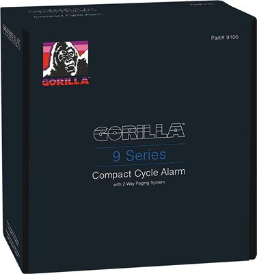 GORILLA 9100 CYCLE ALARM W/2-WAY PAGING SYSTEM