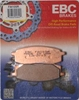 EBC HIGH-PERFORMANCE BRAKE PADS