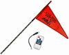 WHIP IT DELUXE LIGHTED FLAG