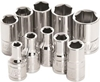 "PERFORMANCE 1/4"" SAE SOCKET SET"