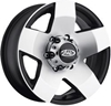 AWC 850 SERIES ALUMINUM TRAILER WHEEL