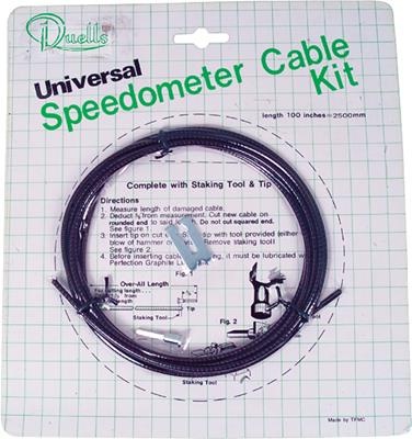 MOTION PRO UNIVERSAL SPEEDOMETER CABLE KIT