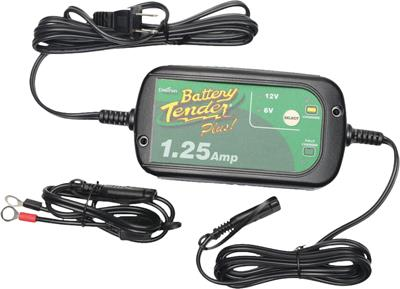 BATTERY TENDER 1.25 AMP SELECTABLE BATTERY CHARGER
