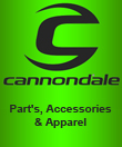 Cannondale Part's, Accessories & Apparel