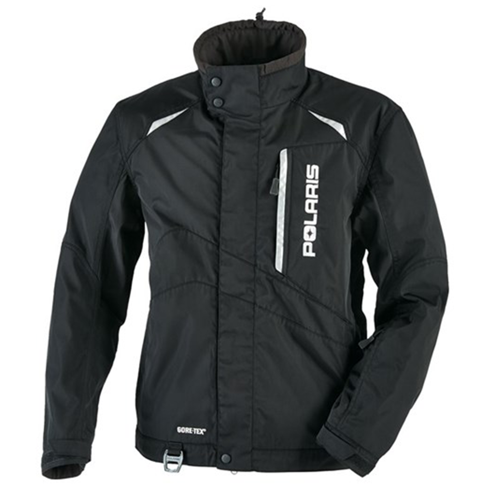 Pro GORE-TEX® Black Polaris™ Men's Snowmobile Jacket, 2865002_