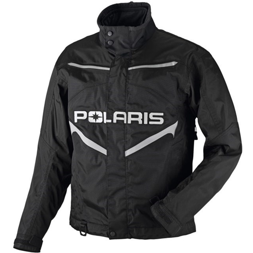 Throttle Black Polaris™ Men's Snowmobile Jacket, 2865011_