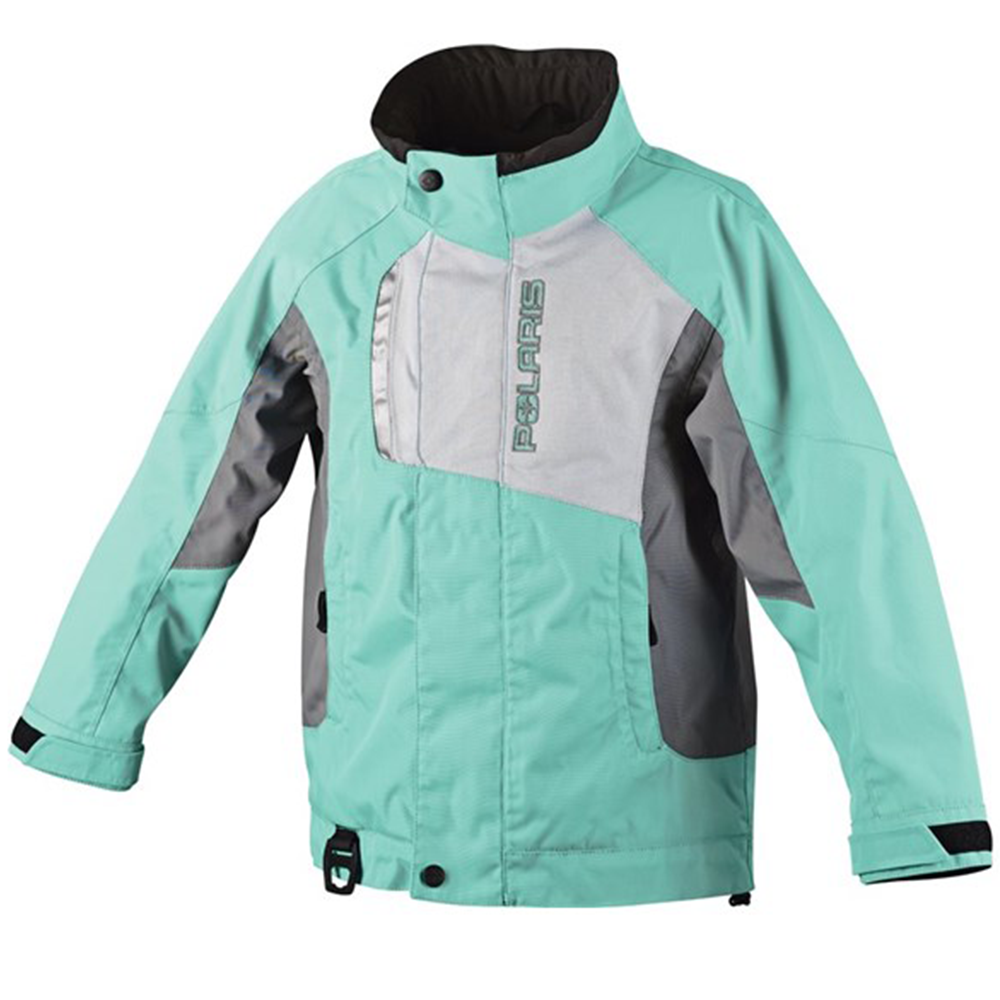Diva Pool Blue Polaris™ Girls Youth Snowmobile Jacket, 2865032_