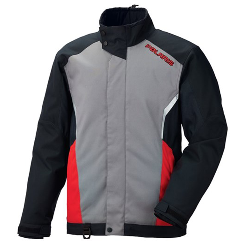 Ripper Red Carbon Polaris™ Snowmobile Jacket