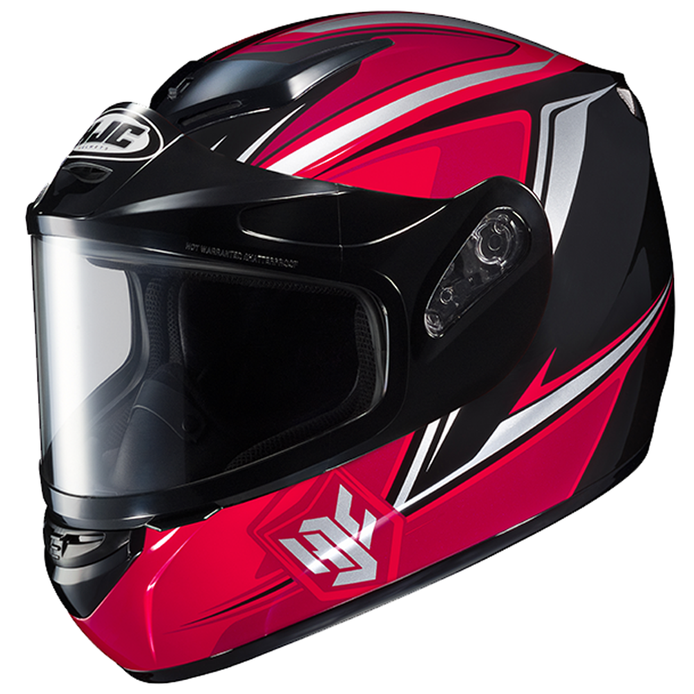 CS-R2 Seca Red Dual Lens HJC™ Snowmobile Helmet