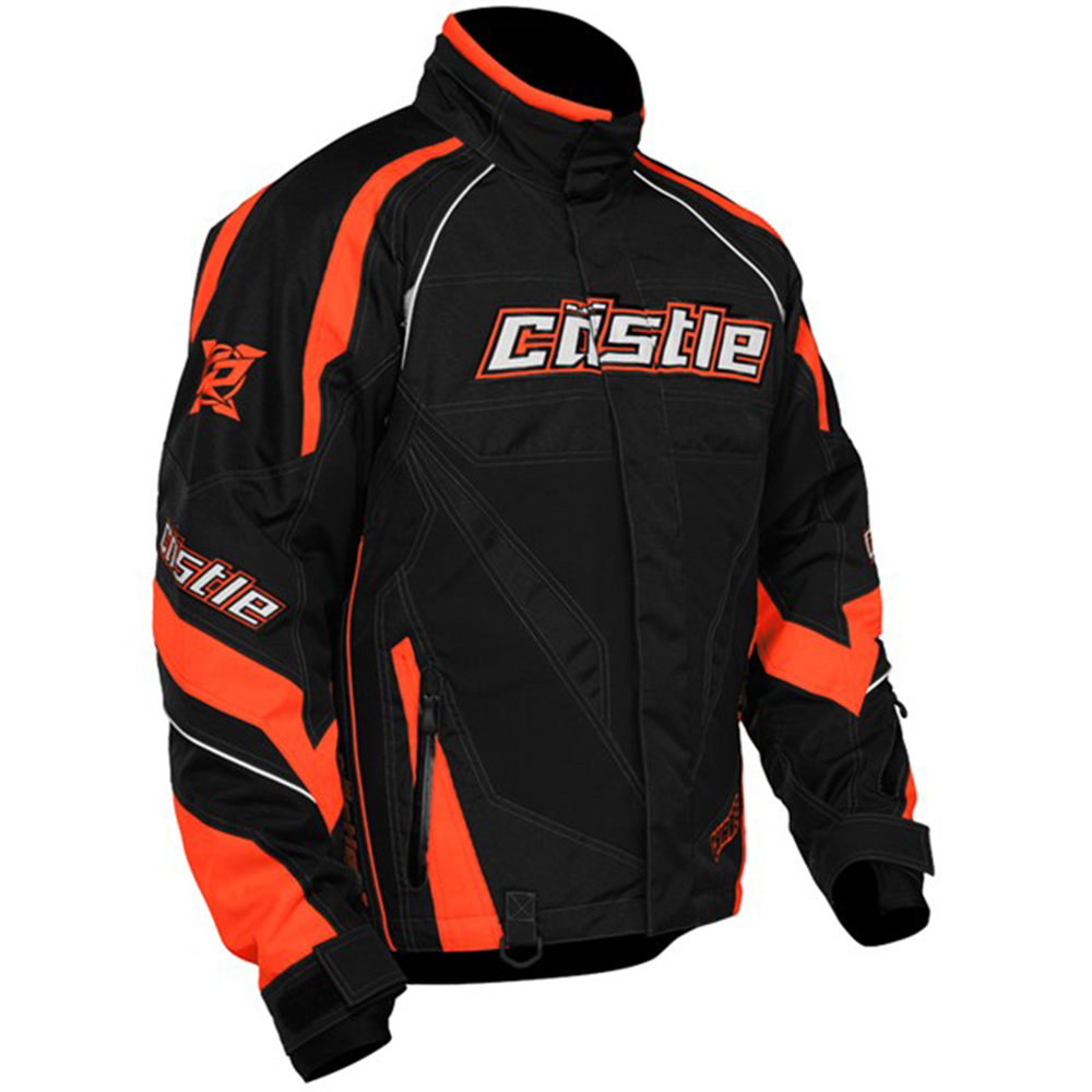 Charge G2B Fluorescent Orange Castle X™ Men's Snowmobile Jacket