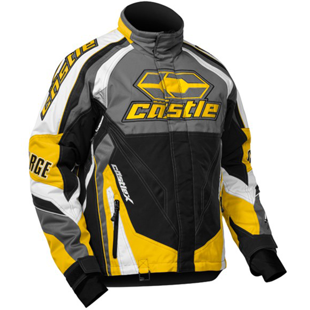 Charge G2C Yellow Castle X™ Men's Snowmobile Jacket