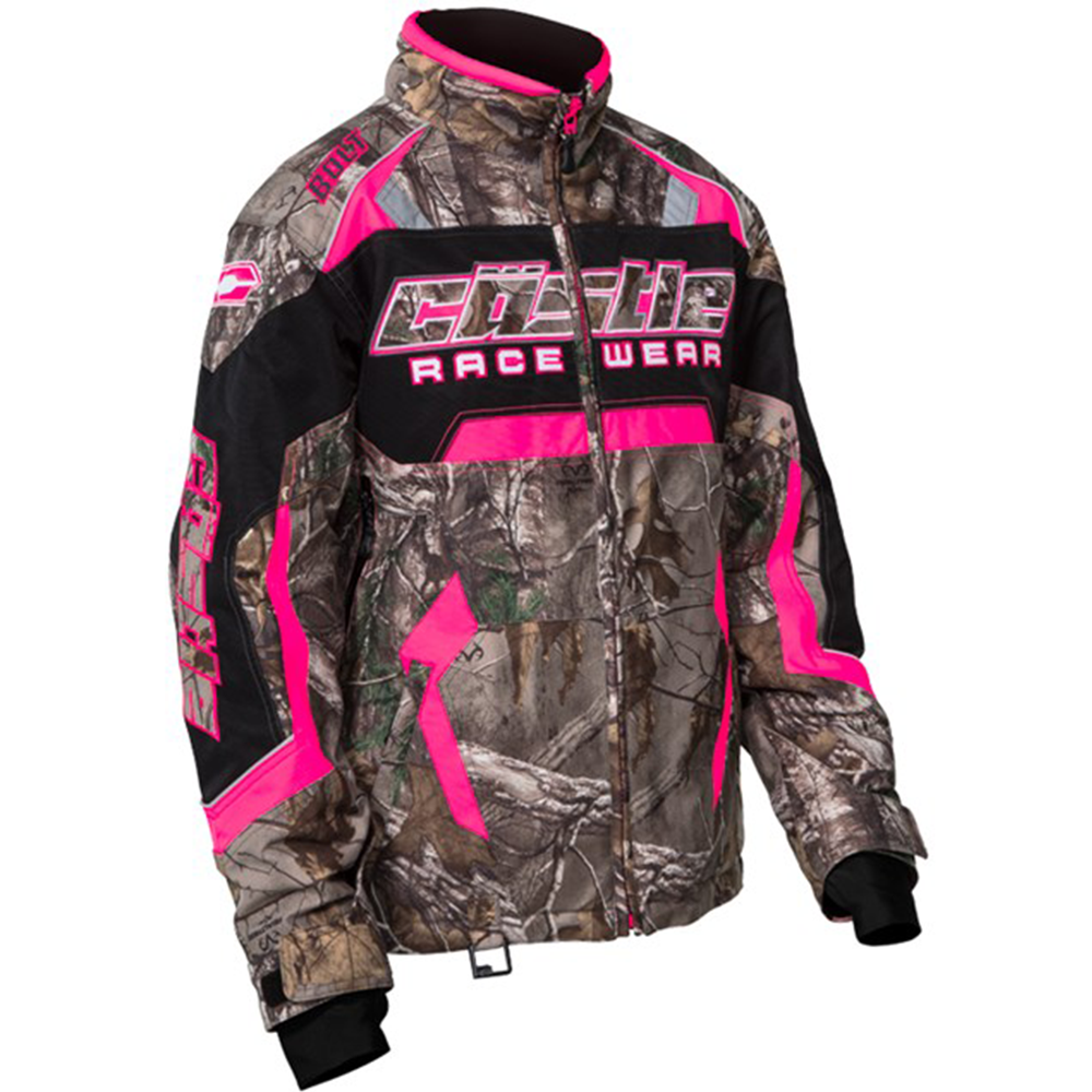 Bolt Realtree® XTRA G3 Hot Pink Castle X™ Women's Snowmobile Jacket