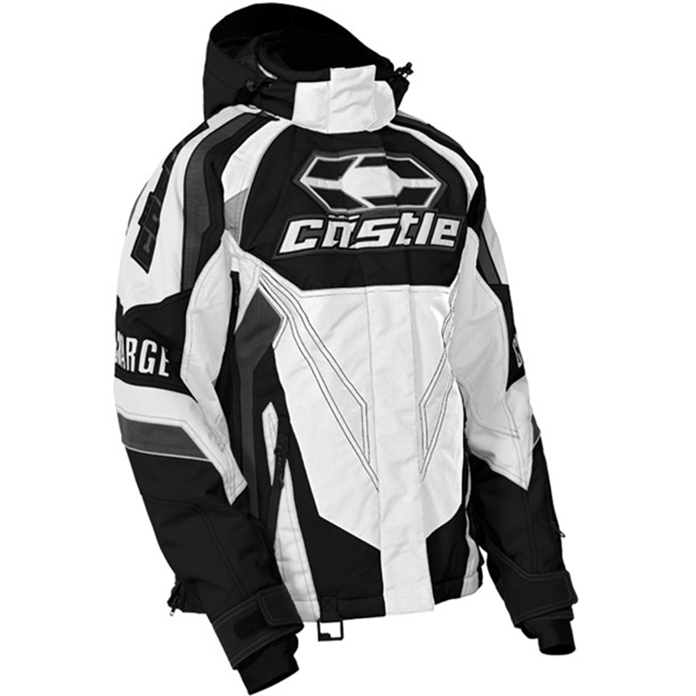Womens Snowmobile Suits >> Charge G2c White Castle Xa Women S Snowmobile Jacket From Closeout