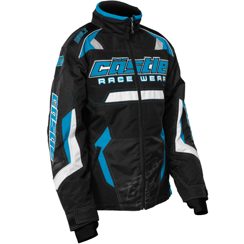 Bolt Girl's G3 Reflex Blue Castle X™ Youth Snowmobile Jacket