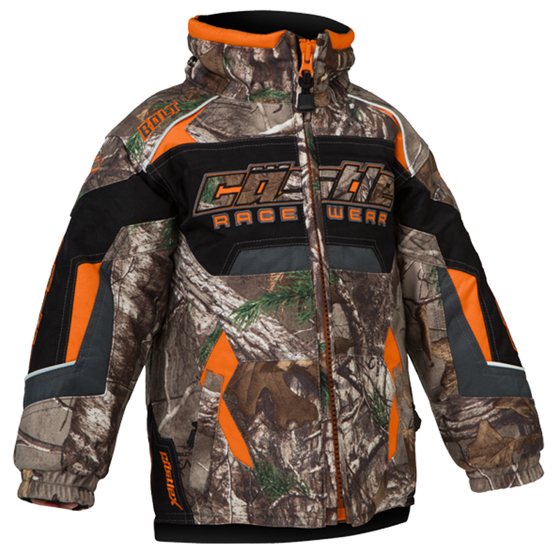 Bolt Realtree® XTRA Orange Castle X™ Toddler Snowmobile Jacket