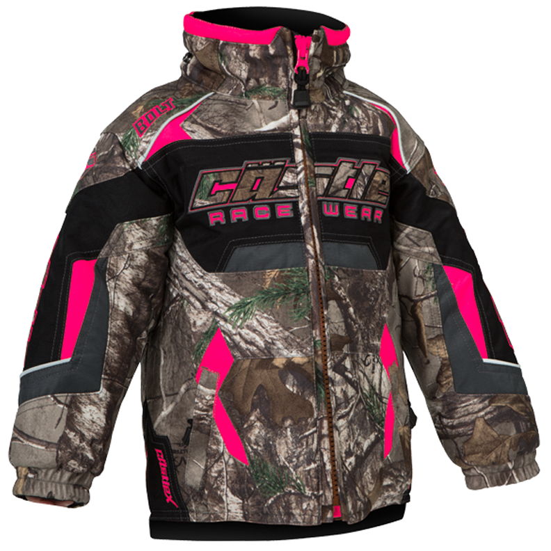 Bolt Realtree® XTRA Hot Pink Castle X™ Toddler Snowmobile Jacket