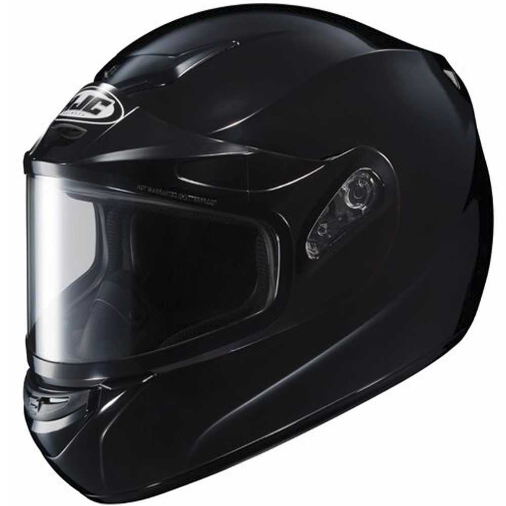 CS-R2 Black Dual Lens Shield HJC™ Snowmobile Helmet