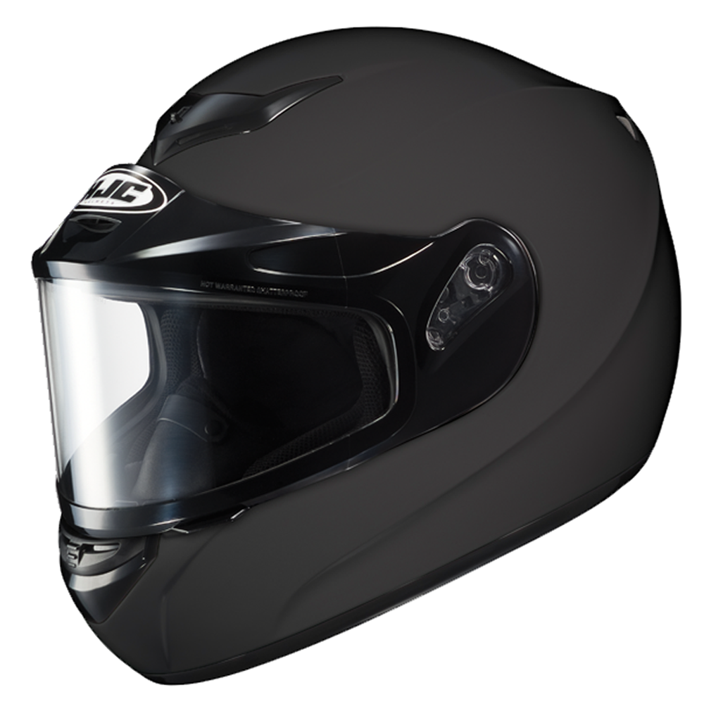 CS-R2 Matte Black Dual Lens Shield HJC™ Snowmobile Helmet