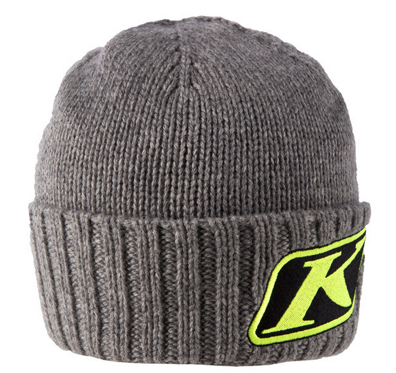 KLIM CANYON BEANIE HAT GRAY / HI-VIS