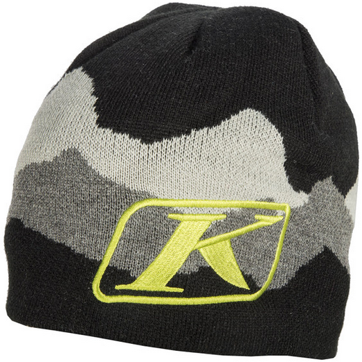 KLIM BEANIE ADULT BLACK / LIME OSFA