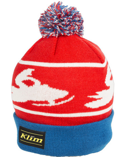 KLIM BOMBER BEANIE ADULT OSFA RED