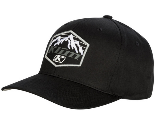 KLIM GLACIER BASEBALL HAT BLACK SM-MD