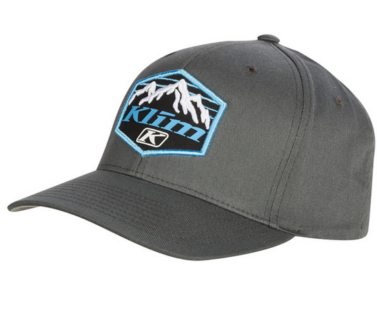 KLIM GLACIER BASEBALL HAT GRAY SM-MD