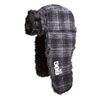 509 Black Trapper Fur Hat
