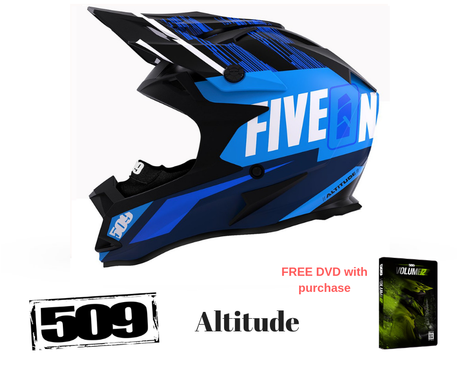 509 Altitude Helmet with Fidlock Particle Blue